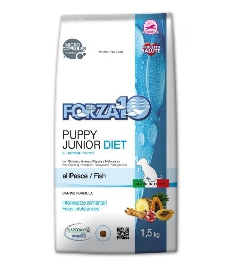 Forza 10 Diet - PUPPY&JUNIOR, Pesce