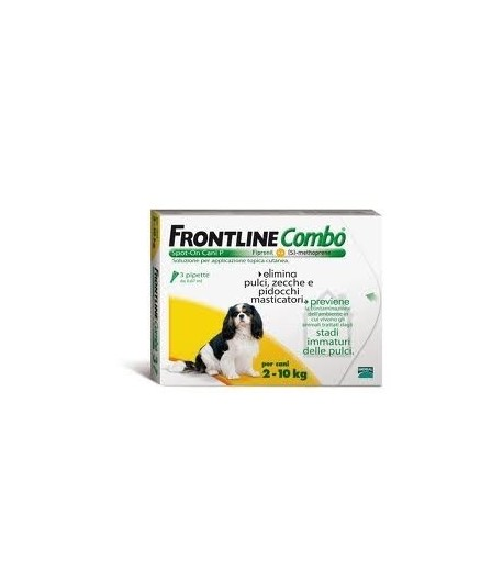 Frontline COMBO 3 Pipette Cani
