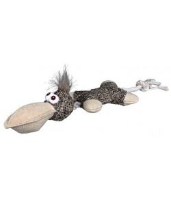 Trixie Ornitorinco in tessuto con corda