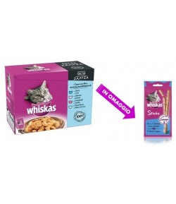 Whiskas Multipack in Salsa- 12 x 100 gr.