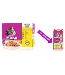 Whiskas Multipack in Gelatina- 12 x 100 gr.