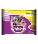 Whiskas Multipack JUNIOR 4 x 100 gr.