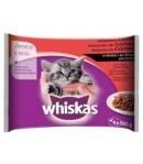 Whiskas Multipack JUNIOR 4 x 100 gr.