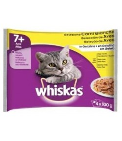 Whiskas Multipack SENIOR+7 4 x 100 gr.