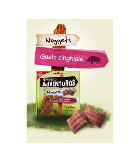 Adventuros Nuggets gusto Cinghiale 90 gr.