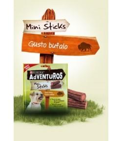 Adventuros Mini Sticks gusto Bufalo 90 gr.