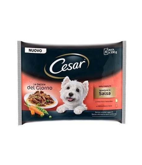 Cesar - Le Delizie - Multipack 4 x 100 gr.