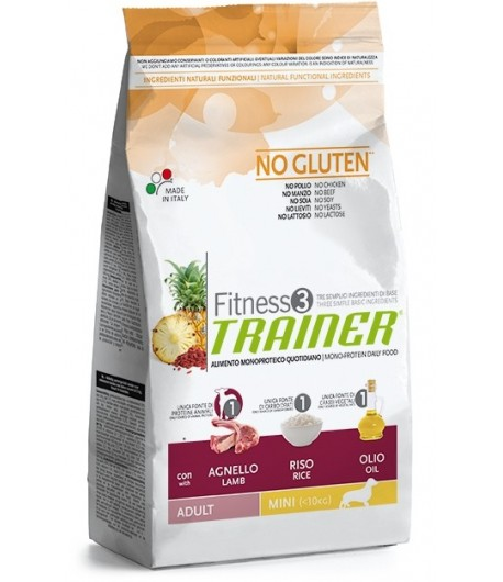 Trainer Fitness Adult MINI, Agnello e Riso