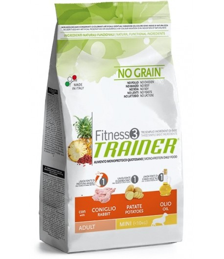 Trainer Fitness Adult MINI, Coniglio e Patate