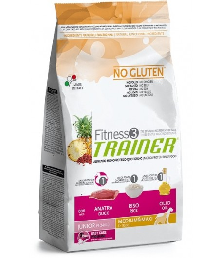 Trainer Fitness Junior MEDIUM_MAXI, Anatra e Riso