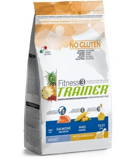 Trainer Fitness Adult MEDIUM_MAXI, Salmone e Mais