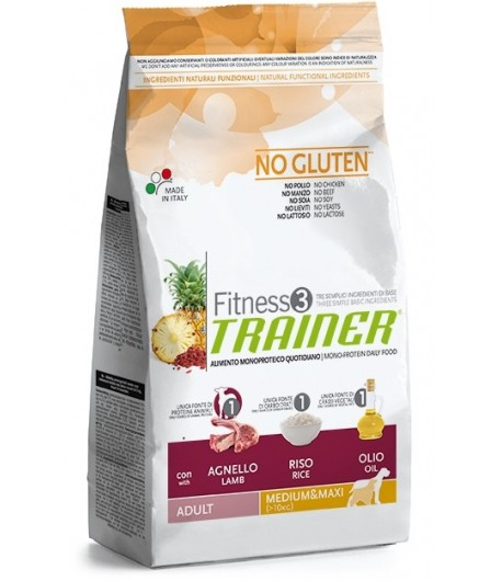 Trainer Fitness Adult MEDIUM_MAXI, Agnello e Riso