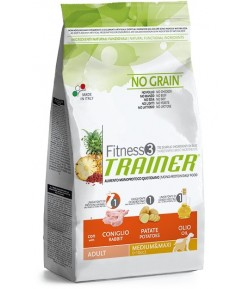 Trainer Fitness Adult MEDIUM_MAXI, Coniglio e Patate
