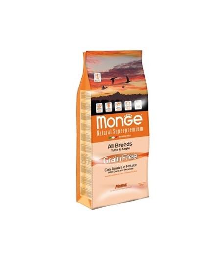 Monge GRAIN FREE Anatra e Patate