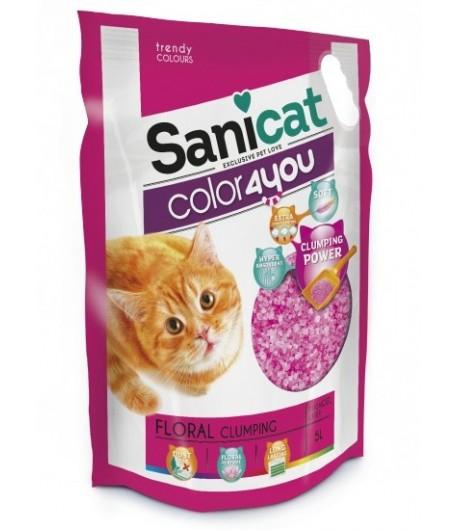 Sanicat Lettiera Color4you Floral in Silicio