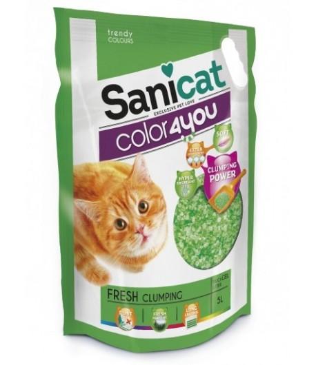 Sanicat Lettiera Color4you Fresh in Silicio