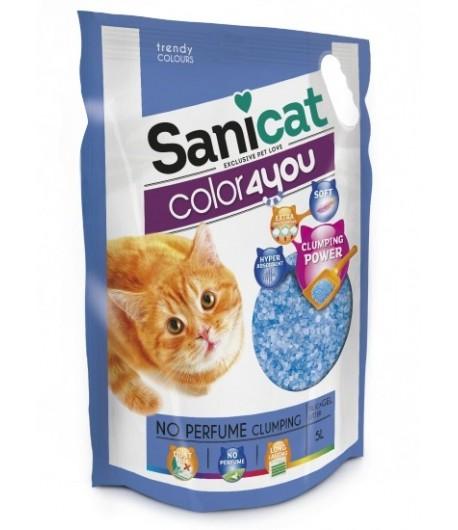 Sanicat Lettiera Color4you Natural in Silicio