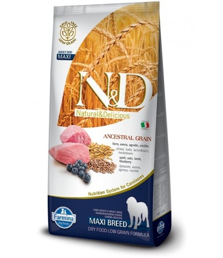 N&D ANCESTRAL DOG Adult Maxi, 12 Kg.