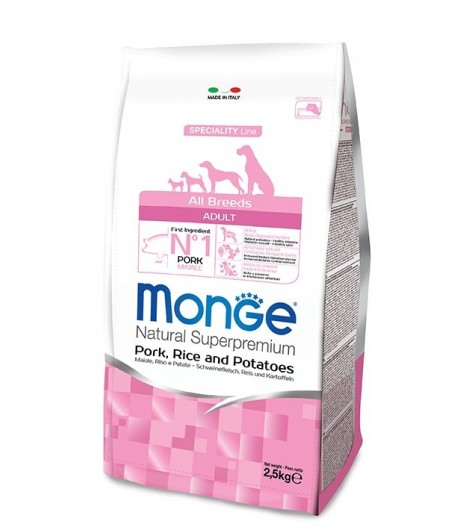 Monge All Breeds Maiale, Riso e Patate