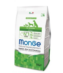Monge All Breeds Coniglio, Riso e Patate