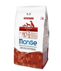 Monge All Breeds Agnello, Riso e Patate
