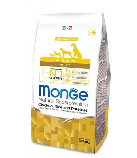 Monge All Breeds Pollo, Riso e Patate