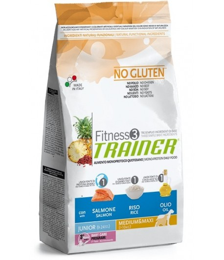 Trainer Fitness Junior MEDIUM_MAXI, Salmone e Riso