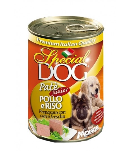 Monge Special Dog JUNIOR Pate 400 gr.