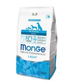 Monge All Breeds Light Salmone e Riso