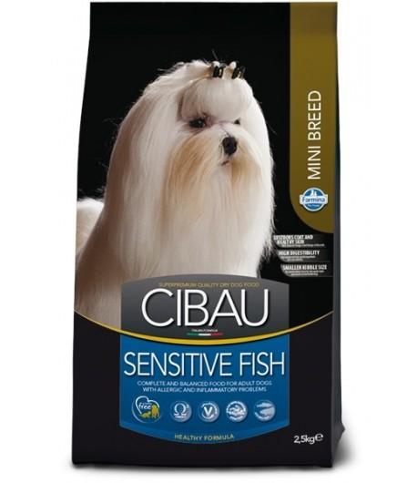 Cibau, Adult Mini Sensitive Pesce