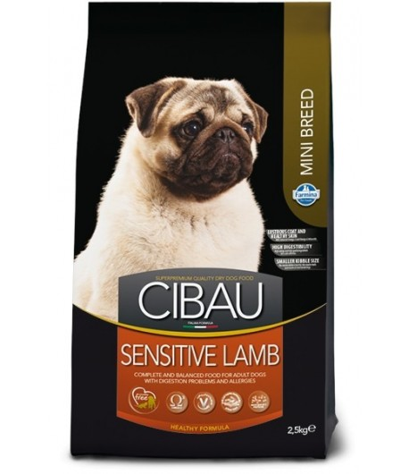 Cibau, Adult Mini Sensitive Agnello