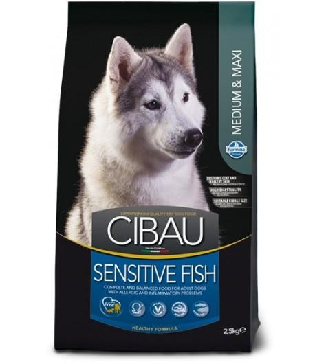 Cibau, Adult Medium/Maxi Sensitive Pesce