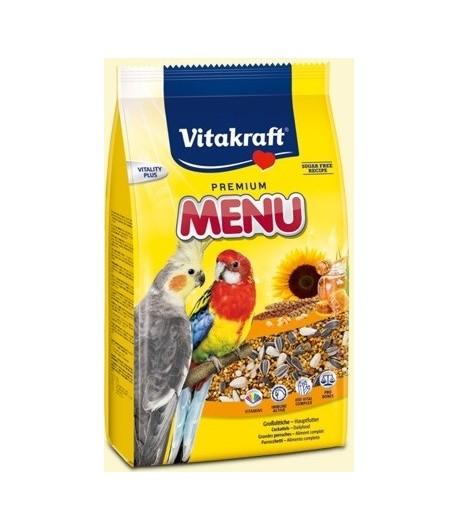 Vitakraft, Premium Menu Parrocchetti