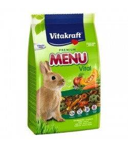 Vitakraft, Menu Vital Conigli