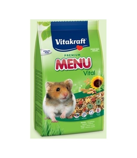 Vitakraft, Menu Vital Criceti