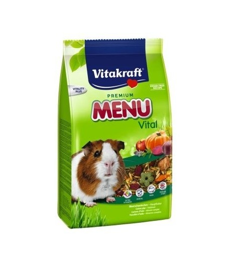 Vitakraft, Menu Vital Porcellini d'India