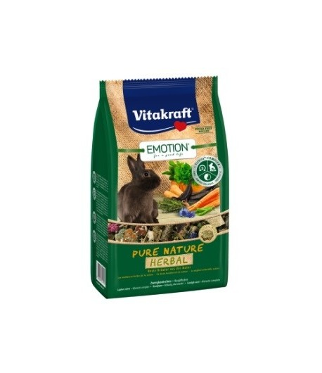 Vitakraft, Emotion Pure Nature Selection HERBAL per CONIGLI