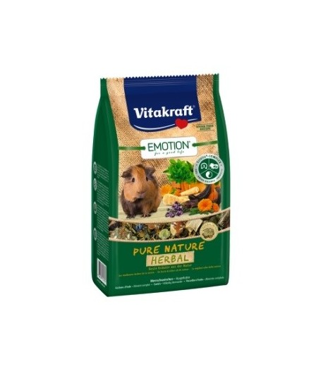 Vitakraft, Emotion Pure Nature Selection HERBAL per Cavie e Porcellini d'India