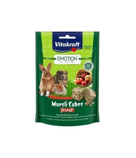 Vitakraft, Muesli Cubetti di cereali e frutta