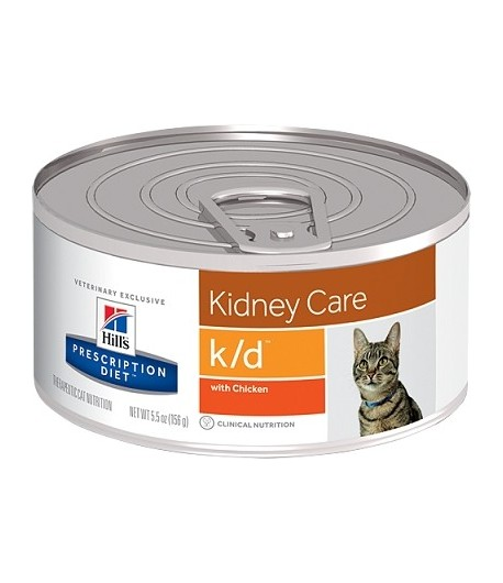 Hill's Prescription Diet K/D feline 156 gr.