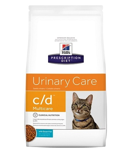 Hill's Prescription Diet C/D feline Pesce Oceanico