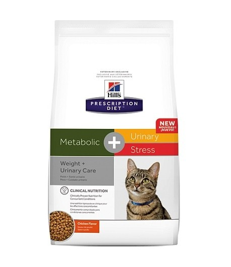 Hill's Prescription Diet Feline Metabolic+Urinary Stress