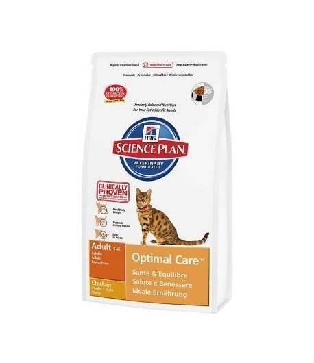 Hill's Science Plan-Adult-Optimal Care, Pollo