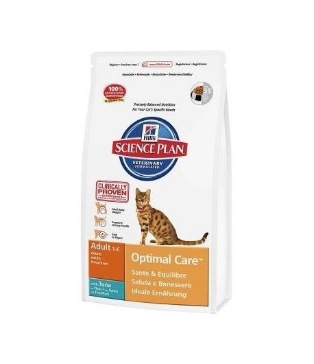 Hill's Science Plan-Adult-Optimal Care, Tonno