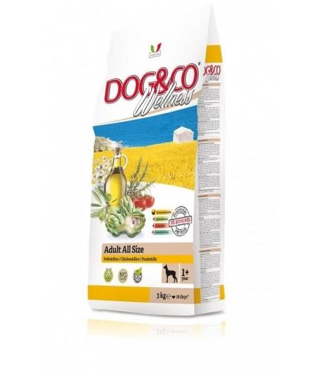Dog&Co Wellness, Pollo e Riso