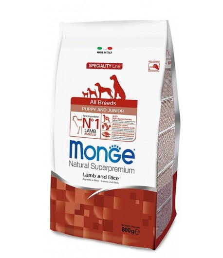 Monge All Breeds PUPPY Agnello e Riso