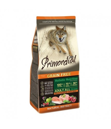 Primordial Grain Free Dog Adult All Breed Pollo e Salmone