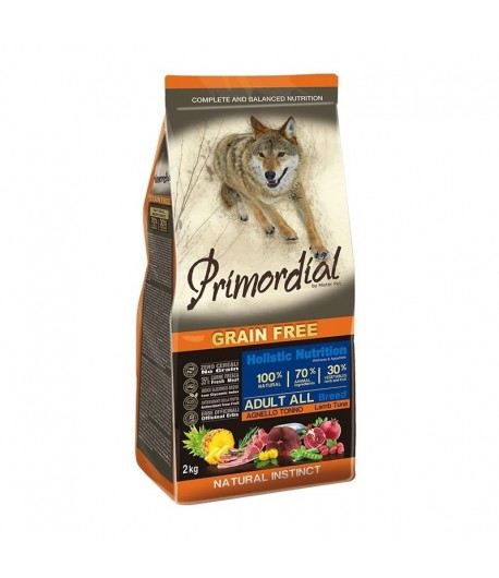 Primordial Grain Free Dog Adult All Breed Tonno e Agnello