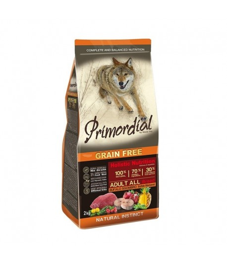 Primordial Grain Free Dog Adult All Breed Bufalo e Sgombro