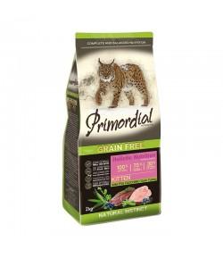 Primordial Grain Free Cat Kitten Anatra e Tacchino